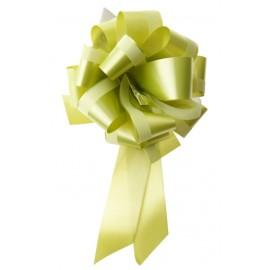 Noeud Beauty automatique vert anis 30 mm les 2