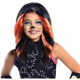 Perruque Skelita Calaveras Monster High fille