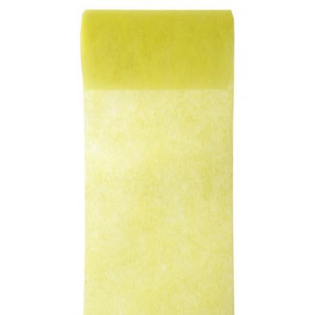 Ruban intissé jaune 10 cm x 10 M