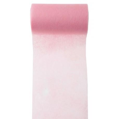 Ruban intissé rose 10 cm x 10 M