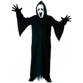 Déguisement fantôme hurlant garçon Halloween