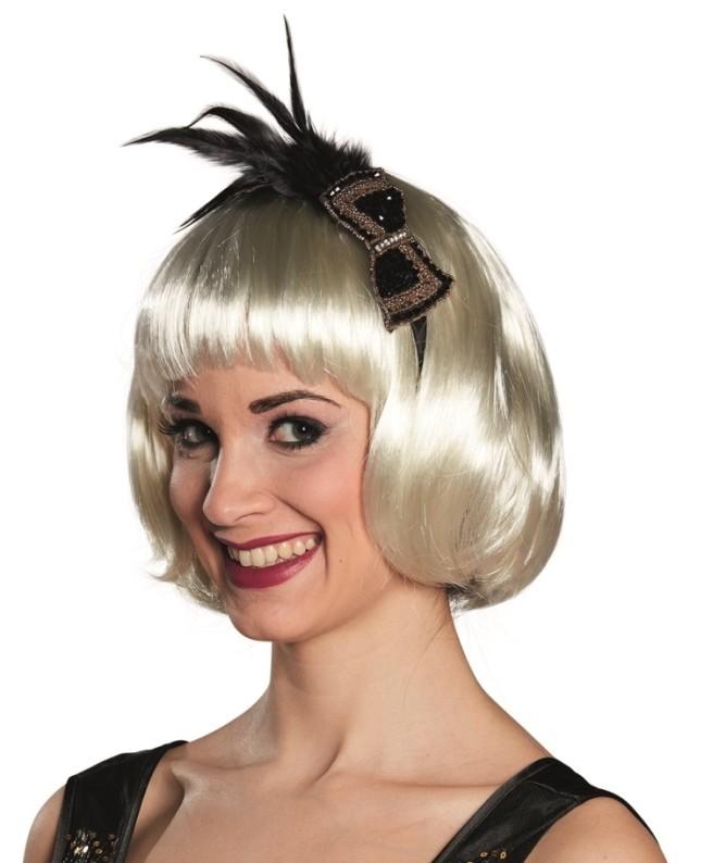 Serre t te charleston femme ann es 20 30 bandeau charleston et coiffe - Bandeau annee 20 ...