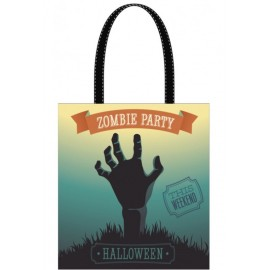 Sac à bonbons Halloween Zombie Party 42.5 cm