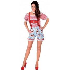 Déguisement pantalon tyrolien femme luxe