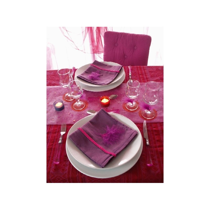 Chemin de table paillet intiss couleur 10 m achat - Set de table intisse ...