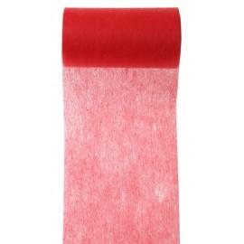 Ruban intissé rouge 10 cm x 10 M