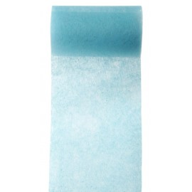 Ruban intissé turquoise 10 cm x 10 M