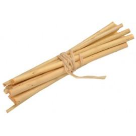 Fagot de bois ivoire déco 13 cm les 4