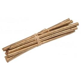 Fagot de bois or déco 13 cm les 4
