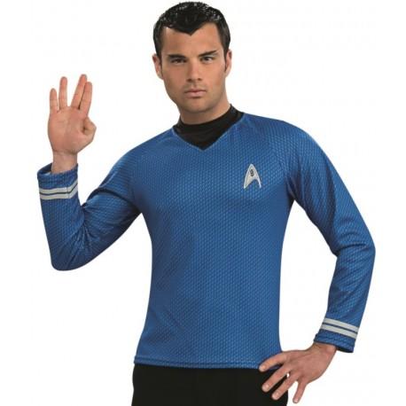 Déguisement Spock Star Trek bleu homme