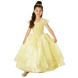 Déguisement Belle Disney™ fille princesse Premium Le Film