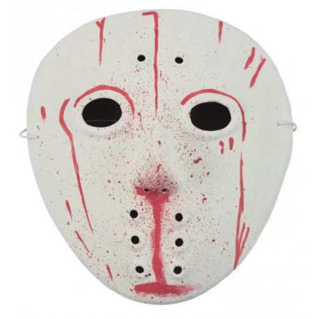 Masque hockey ensanglanté adulte Halloween