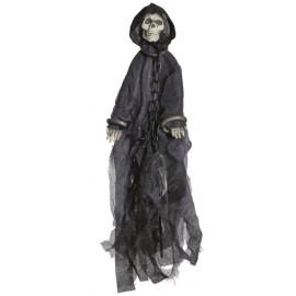 Déco squelette Halloween effrayant 50 cm