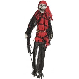 Déco squelette pirate 50 cm