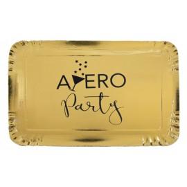 Plateaux Apéro Party carton or les 5