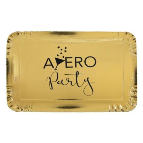 Plateau apéro party carton or les 5