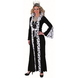 Déguisement reine dalmatien femme luxe