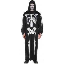 Déguisement squelette zombie homme