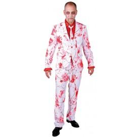 Déguisement costume ensanglanté homme luxe
