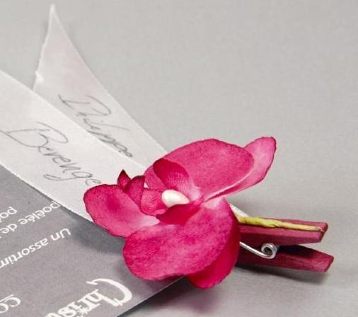 Orchidees Sur Pince Orchidees Decoration Mariage Fete Fleurs D