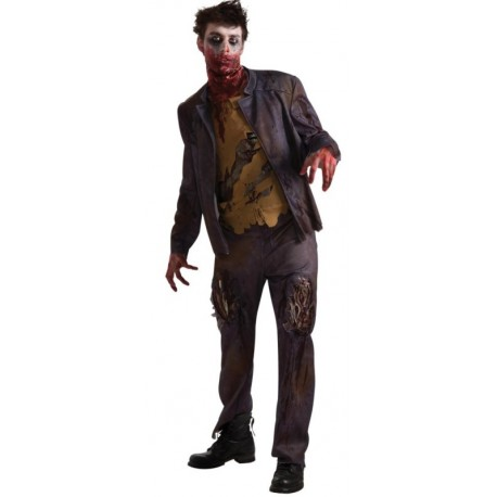 d guisement zombie homme halloween d guisements zombies. Black Bedroom Furniture Sets. Home Design Ideas