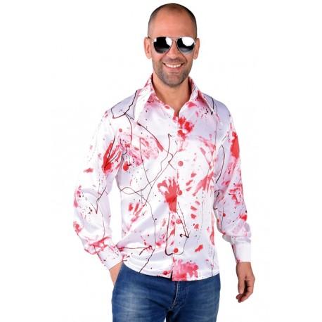 Déguisement chemise ensanglantée homme luxe