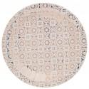 Assiettes carton carreaux de ciment cuivre 22.5 cm les 10