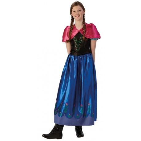 D guisement anna de la reine des neiges fille disney - Princesse anna reine des neiges ...