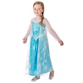Déguisement Elsa Frozen La Reine des Neiges fille luxe