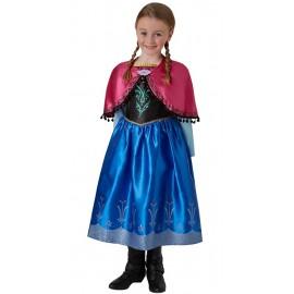 Déguisement Anna de La Reine des Neiges fille luxe