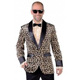 Déguisement veste léopard homme luxe