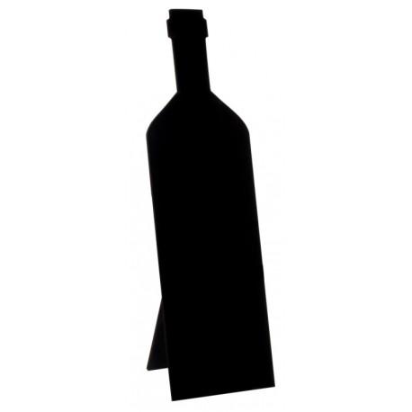 Marque table ardoise bouteille de vin 29 cm