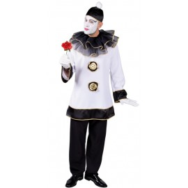 Déguisement Pierrot homme luxe