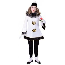 Déguisement Pierrot femme luxe