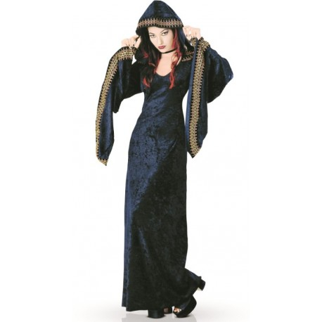 Déguisement prêtresse de minuit femme