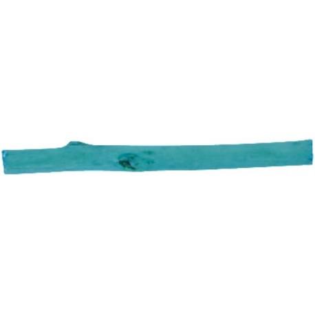Bâtonnet de bois turquoise déco 8 cm les 12