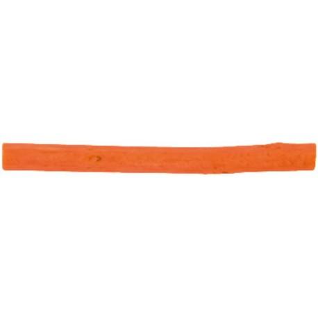 Bâtonnet de bois orange déco 8 cm les 12