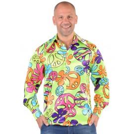 Déguisement chemise hippie homme 70's luxe