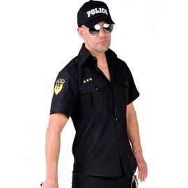 Déguisement chemise policier homme luxe