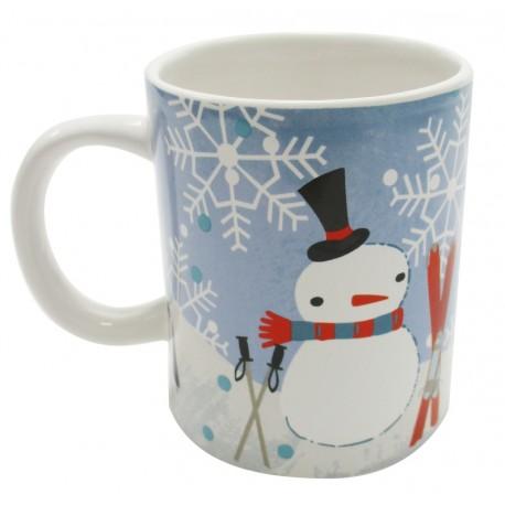 Mug Bonhomme de neige les 4