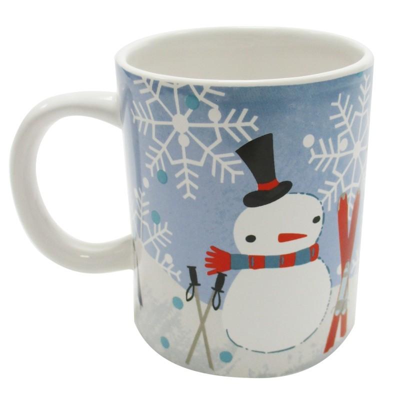 Mug Tasse NoëlAchat X4 Neige Bonhomme Cadeau De c5Aj34qRL