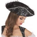 Chapeau pirate baroque femme