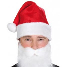 Bonnet père Noël adulte en velours