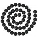 Guirlande boules pailletées noires 120 cm