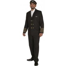 Déguisement Veste pilote d'avion homme