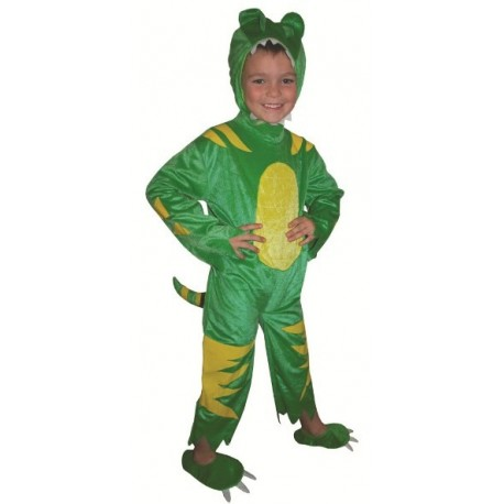 Déguisement dragon enfant dragon vert