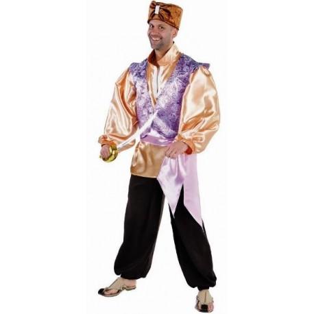 Déguisement sultan 1001 Nuits homme luxe