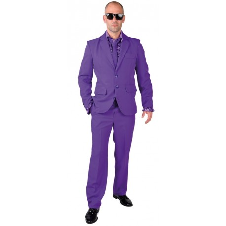 Déguisement Costume violet homme luxe