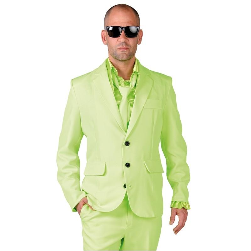 d guisement costume fluo vert homme luxe costume vert. Black Bedroom Furniture Sets. Home Design Ideas