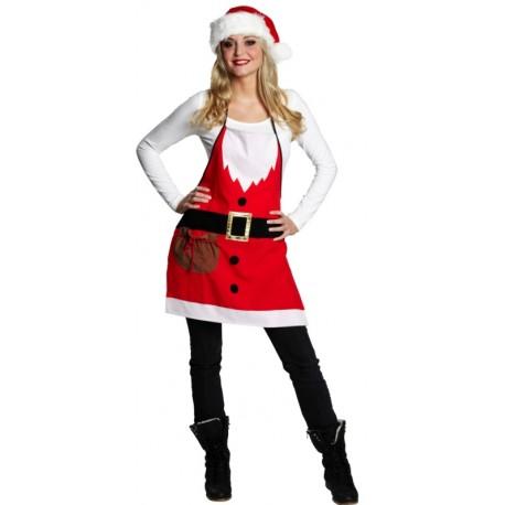 Déguisement Tablier de Noël adulte et enfant